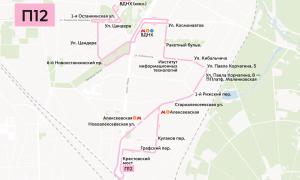 Автобус 129. Расписание Маршрут, Общественный наземный транспорт Москвы