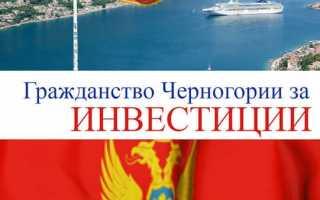 Как получить черногорский паспорт в 2020 году