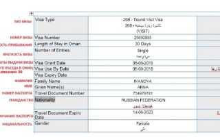 Виза в Оман: получение, оформление, документы, стоимость. Таможня Омана