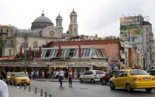 Как добраться из аэропорта Ататюрк до центра Стамбула