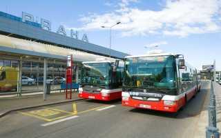 Как можно добраться из аэропорта Рузине до центра Праги: варианты маршрутов