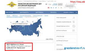 Проверка готовности РВП на официальносм сайте ФМС России.