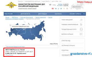 Запись на РВП онлайн в 2020 году (Москва и области, СПБ)