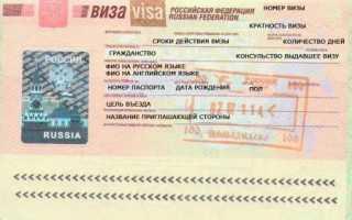 Как оформляется деловая виза в Россию для иностранцев? Подробно