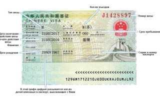 Виза в Китай для граждан Украины: как получить в 2020 году