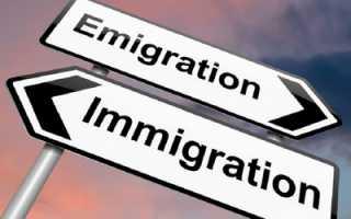 Значение понятий эмиграция ииммиграция