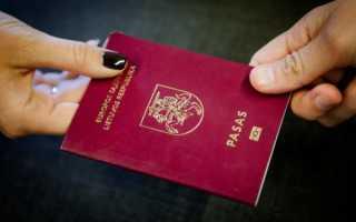 Как получить гражданство Литвы россиянам, украинцам и белорусам: основания и варианты, сроки и стоимость, перечень документов + отзывы