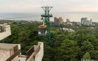 15 интересных и красивых мест в Сочи: фото и описание