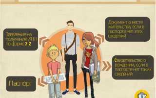 Как грамотно заполнить заявление на получение ИНН физическим лицом в 2020 году