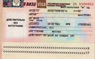 Виза в Россию для иностранца: как оформить, многократная