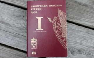 Как получить гражданство и паспорт Швеции гражданину России в 2020 году: рассмотрим вопрос