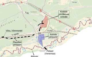 Российские пропускные таможенные пункты для перехода границы с Эстонией: список документов, причины отказа